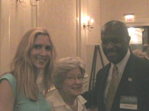 Ann Coulter, her mom and Herman Cain at a Club for Growth event